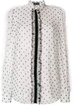Giambattista Valli lace detail blouse