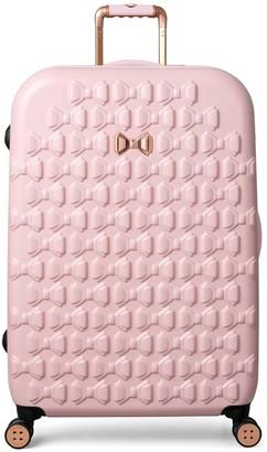 Ted Baker BEAU Pink 4 Wheel Large Case