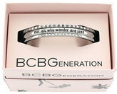 BCBGeneration Not All Who Wander Are Lost Cuff Bracelet