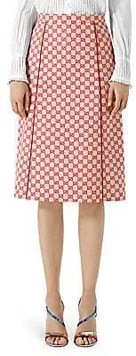 Gucci Women's GG Canvas Skirt