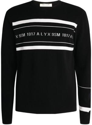 Alyx Logo Stripe Sweater