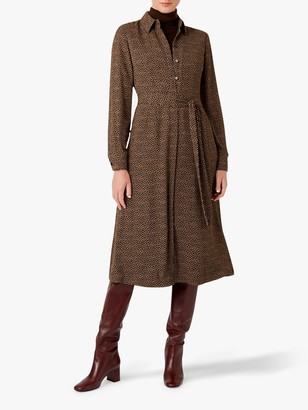 Hobbs Mimi Shirt Dress, Multi