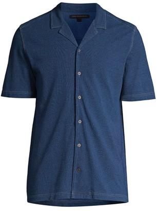 John Varvatos Jackson Button-Up T-Shirt