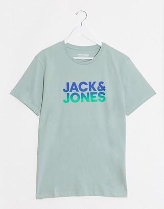 Jack and Jones Gradient print t-shirt