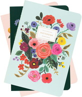 Rifle Paper Co. Garden Party Set of 3 Stitched Notebooks
