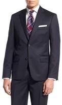 Nordstrom Men's Big & Tall Trim Fit Wool Blazer