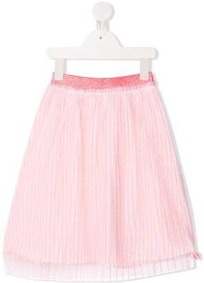 Billieblush Embroidered Pleated Skirt