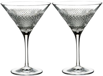 Waterford Diamond Line Martini Glass (Set of 2)