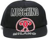 Moschino double question mark cap