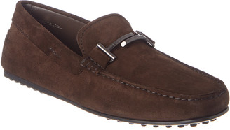 Tod's TodS City Gommino Suede Driving Shoe