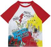Marc Jacobs Graffiti Print T-Shirt