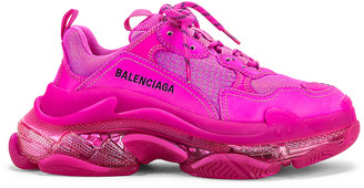 Balenciaga Triple S Sneakers in Pink | FWRD