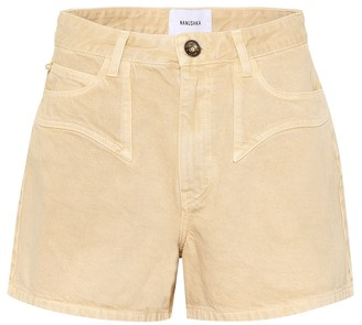 Nanushka Rasa denim shorts