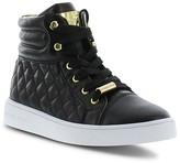 MICHAEL Michael Kors Girls' Ivy Cora Quilted High Top Sneakers - Little Kid, Big Kid