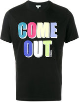 Kenzo Come Out print T-shirt - men - Cotton - S