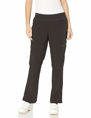 Carhartt Women's Cross-Flex Straight Leg Knit Waist Cargo Scrub Pant