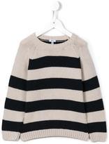 Knot - 'Raglan' striped sweater - kids - Polyamide/Viscose/Cashmere/Merino - 4 yrs