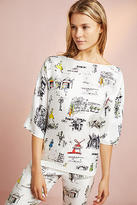 Mimi Holliday Paris Silk Sleep Top