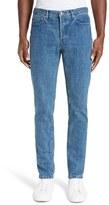 A.P.C. Men's Low Standard Skinny Fit Straight Leg Jeans