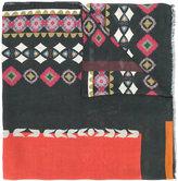 Etro multiple prints scarf