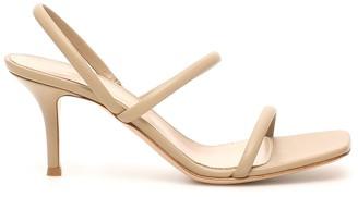 Gianvito Rossi Nappa Sandals