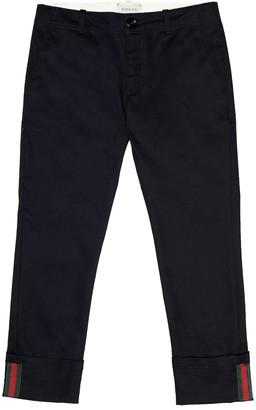 Gucci Kids Cotton pants