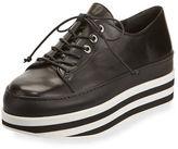 Stuart Weitzman Activate Striped Platform Sneaker