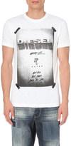 Diesel T-diego-hn graphic-print cotton t-shirt
