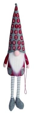 Transpac Plush Advent Gnome Figurine - Comparable Value $45