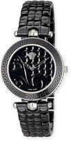 Versace 40mm Vanitas Black Ceramic Watch