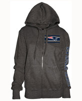 5th & Ocean Women's New England Patriots Backfield LE Hoodie