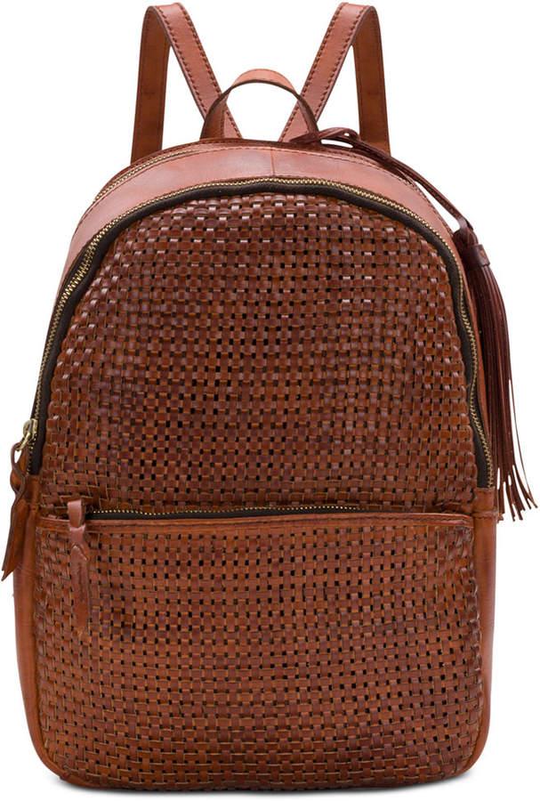 Patricia Nash Woven Turi Backpack
