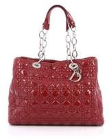 Christian Dior Pre-owned: Soft Chain Tote Cannage Quilt Patent Large.