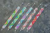 Nix Multicoloured Bead Woven Bracelets