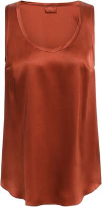 Brunello Cucinelli Stretch-silk Tank
