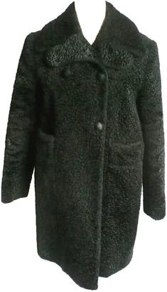 Carven Black Coat for Women