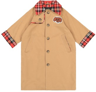 Mini Rodini Cotton twill trench coat