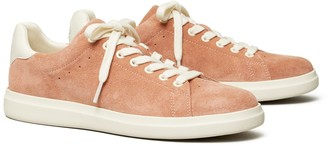 Tory Burch Howell Court Suede Sneaker