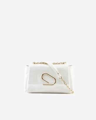3.1 Phillip Lim Alix Soft Chain Embossed Croc Bag