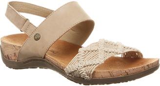 BearPaw Women's Sandals NATURAL-120 - Natural Emerson Sandal - Women