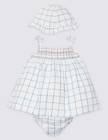 Marks and Spencer 3 Piece Pure Cotton Dress