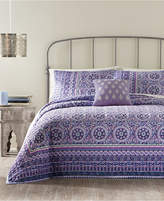 Jessica Simpson Mosaic Border King Quilt Bedding