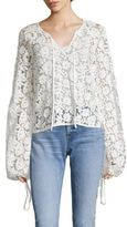 Elizabeth and James Chantalle Overlay Top
