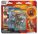 Pokemon 2017 Trading Cards 3pk Pin Blister featuring Entei