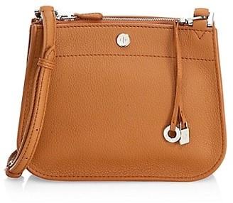 Loro Piana Milky Way Leather Shoulder Bag