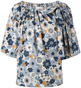 Chloé floral printed blouse - women - Cotton - 40