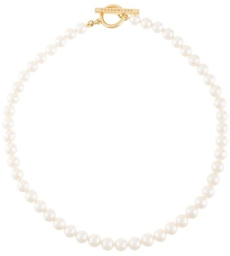 Meadowlark Fob pearl necklace