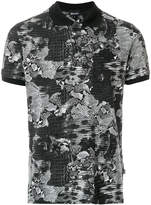 Just Cavalli printed style polo shirt