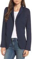 Treasure & Bond Women's Draped Jacquard Blazer