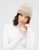 Johnstons Chunky Cable Hat